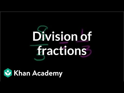 (6.NS.A.1)Dividing fractions