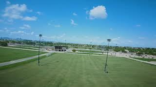 FPV Drone shots of Scottsdale Sports Complex