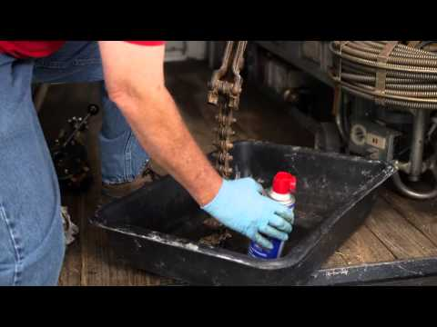 Maintaining Pipe Cutters with WD-40® Multi-Use Product
