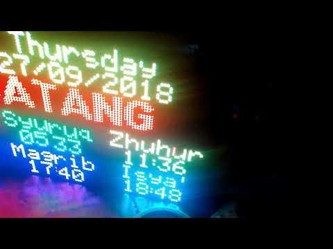 RGB Led Matrix - STM32 - смотреть онлайн на Hah Life