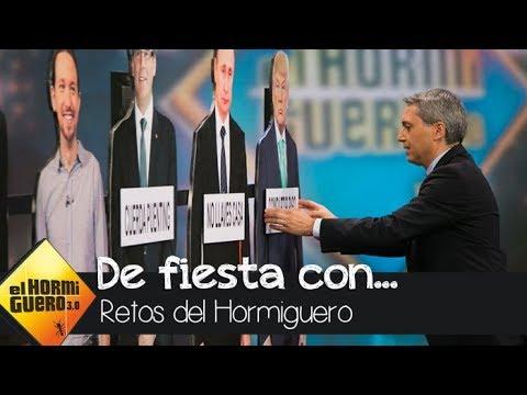 ¿Con qué político se iría de fiesta el periodista Vicente Vallés? - El Hormiguero 3.0