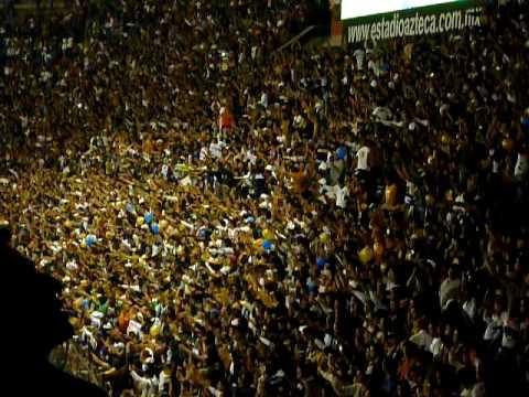 """""""Dale Azul y Oro Dale Dale Pumas Campeon - america vs PUMAS (14 de Abril 2010)"""" Barra: La Rebel • Club: Pumas"""