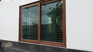 Upvc Aluminium Wooden Window Frame And Its Design