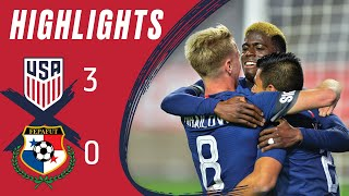MNT vs. Panama: Highlights - Jan. 27, 2019