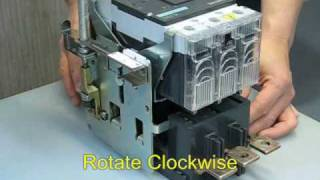 Siemens 3VL MCCB Operation (廣東話)(English subtitle)