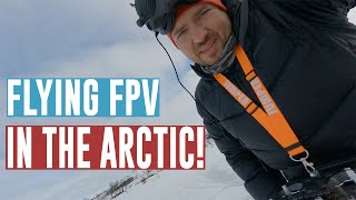 Learning FPV! Our cabin in Finnmark shot with Gopro Hero 9 and Iflight Nazgul5