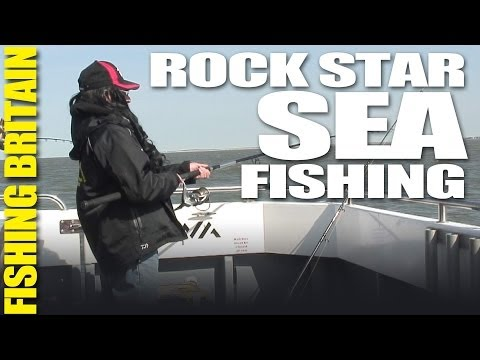 Fishing Britain – Sea Fishing with a Rock Star