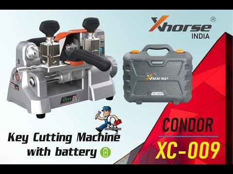Condor XC009 Key Cutting Machine with Battery