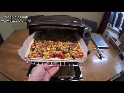 Pizzaofen-Test - Pizza im mini Backofen zubereiten