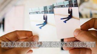 Polaroid Zip Vs Canon Selphy