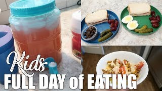 (Realistic) What My Kids Eat in a Day   Summer Break Edition