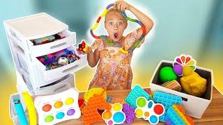 Everleigh's INSANE Fidget Toy Haul! (Must Watch)