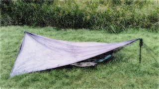 Hammock Camping on the Ground at Colorado Bend State Park