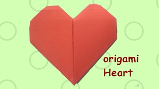 How to make a paper heart || easy origami heart || valentines day ideas || Craftastic