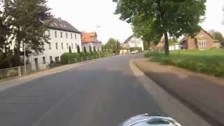 preview picture of video 'Mit der Kawasaki VN1500 Classic Tourer durch Sarstedt und Umgebung'