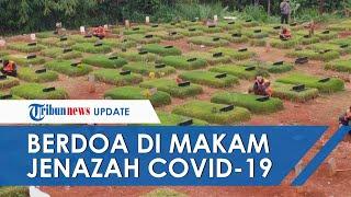 Melanggar Protokol Kesehatan, 19 Warga di Tangsel Dihukum Berdoa di Makam Jenazah Covid-19