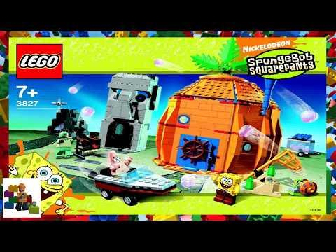 Lego Instructions Spongebob 3827 Adventures In Bikini Bottom