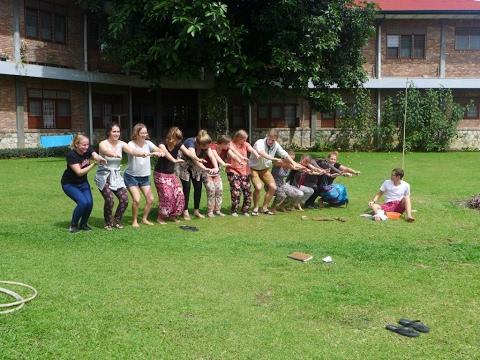 Zwischenseminar in Sumatra