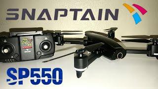 SnapTain SP550 GPS Foldable 2k WiFi fpv Camera Drone | Unboxing & Test Flight