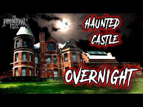 Overnight In America's Most Haunted Castle