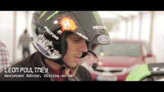 Ken Block tears up Top Gear Live