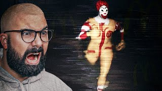 BRO.. McDonalds has a horror game