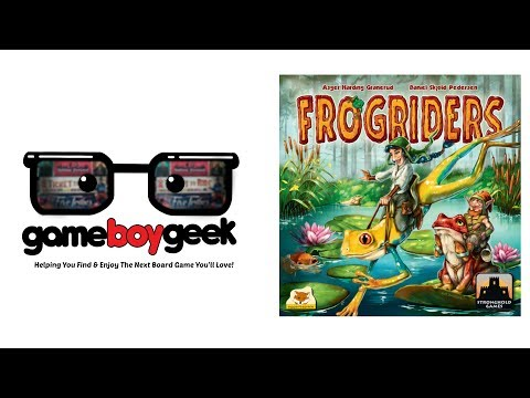 The Game Boy Geek Reviews Frogriders