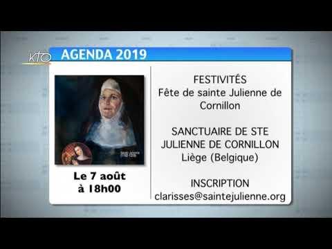 Agenda du 22 juillet 2019