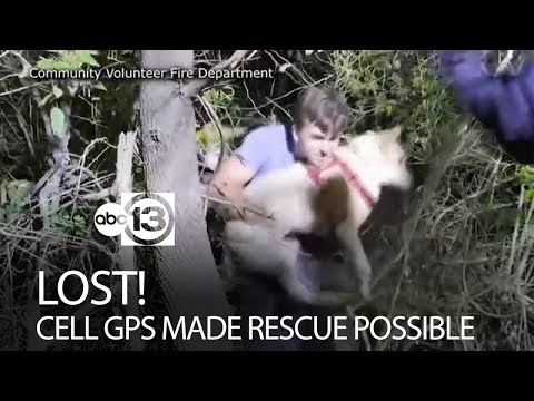 Cell phone GPS helps officials find teen lost in woods