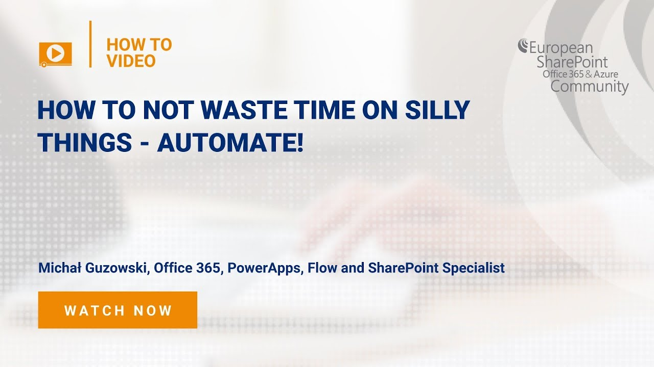 How To Stop Wasting Time on Silly Things - Automate