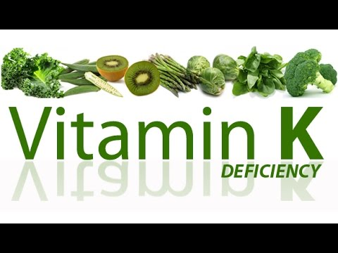 Video Vitamin K Deficiency Symptoms. Vitamin K Overview.