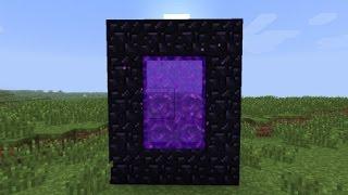 Как построить портал в ад в Minecraft 0.9.5-0.10.0