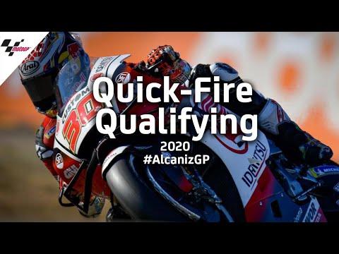 中上貴晶がMotoGP初のポールポジションを獲得!MotoGP テルエルGP 予選ハイライト動画
