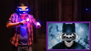 DAVIS BECOMES BATMAN IN ARKHAM VR