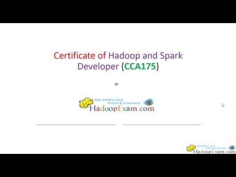CCA175 : Hadoop & Spark Certification (How to prepare?) - YouTube