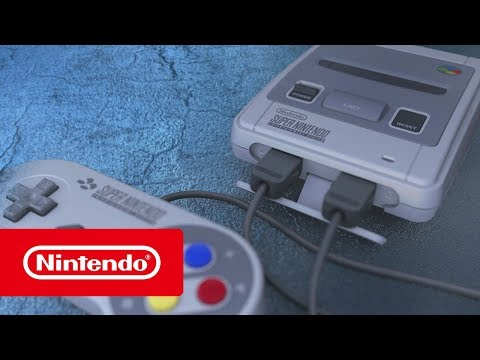 Nintendo Classic Mini: Super Nintendo Entertainment System – The console of a generation!