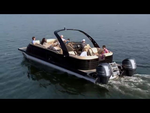 10 Foot Wide Twin Engine 600HP Pontoon Boats: Pontoon Boat Reviews