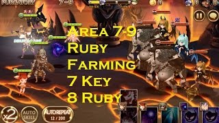 Seven Knights Asia - Auto Farming 7 Key 8 Ruby (Area 7-9)