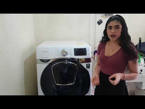 LavaSecadora Samsung uso paso a paso