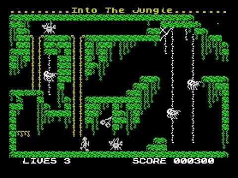 Page and the Curse of the Pharaoh Walkthrough, ZX Spectrum