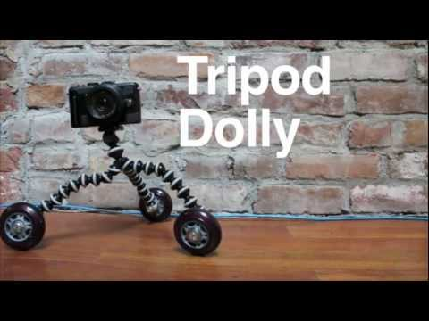Create A Cheap CineSkates-Like Tripod Dolly