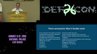 DEF CON 26 PACKET HACKING VILLAGE - Chris Hanlon - Holes in the Foundation of Modern Security