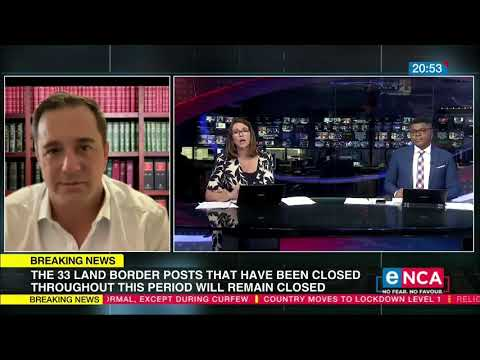 SA moves to Lockdown Level 1 DA's John Steenhuisen comments on the announcement