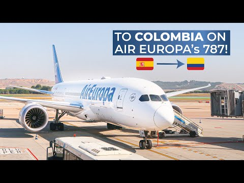 TRIPREPORT | Air Europa (ECONOMY CLASS) | Boeing 787-8 | Madrid - Bogotá