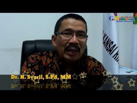 Jadi Calon Walikota Pekanbaru, Dr H Syahril SPd, MM: Tulus untuk Rakyat Berbuat untuk Rakyat Sejahtera