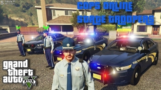 COPS ONLINE - TROOPERS SHOW FORCE POLICE SHOOTING PT 2