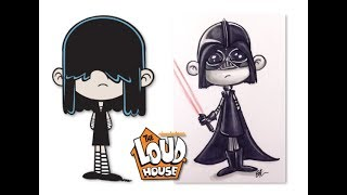 The Loud House Characters as Star Wars