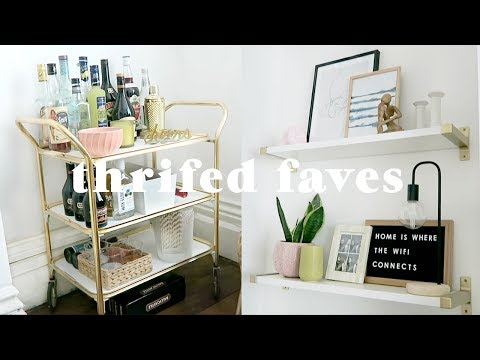 Favourite thrifted furniture pieces in the new home 🏡