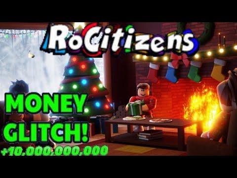 RoCitizens Money Glitch NEW || Christmas