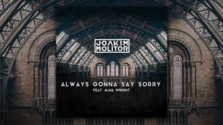 Joakim Molitor   Always Gonna Say Sorry [feat. Maia Wright] (Official Audio)